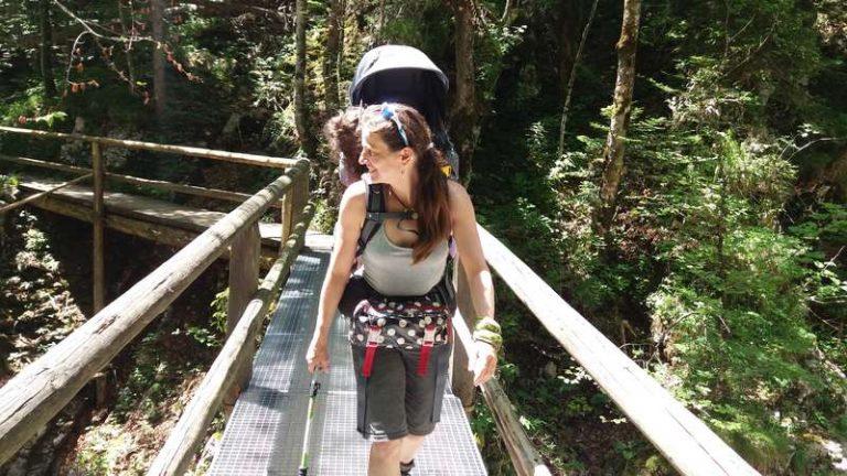 kleiner Waldweg zur Lainlalm